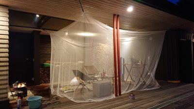 蚊帳~夏のデッキで~